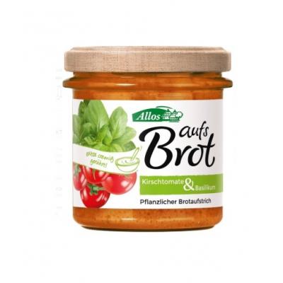 ALLOS Pasta kremowa z pomidorami cherry i bazylią bezglutenowa BIO 135g