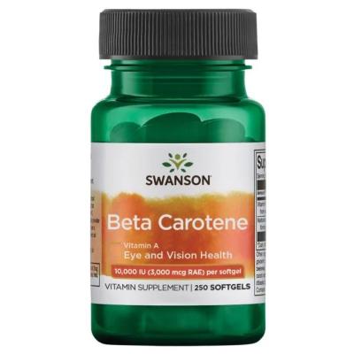 Beta Carotene 10.000IU 250 kaps.