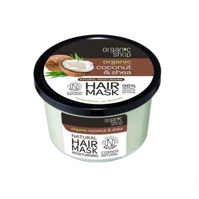 Organic Shop Maska do włosów Kokos & Shea 250ml