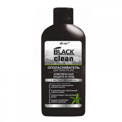 Black Clean Płyn do płukania ust 285ml