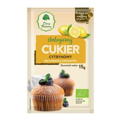 Cukier Cytrynowy EKO 15g