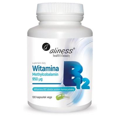 Witamina B12 Metylokobalamina 950ug 100 kaps.