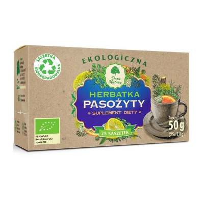 Herbatka Pasożyty EKO 25x2g