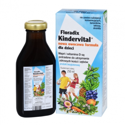 Floradix Kindervital owocowa formuła 250ml