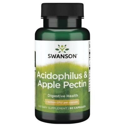 Acidophilus Plus Pektyny jabłkowe 90 kaps.