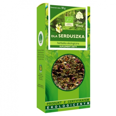 Herbatka dla serduszka EKO 50g