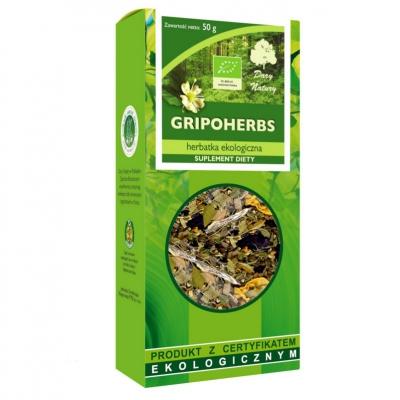 Herbatka Gripoherbs EKO 50g