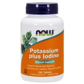 NOW Potassium plus Iodine 180 tabl.