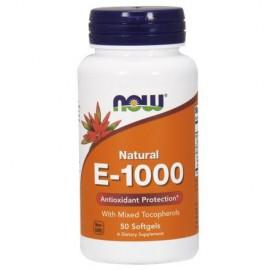 NOW Witamina E-1000 Natur (Mix Tocopherols) 50kaps