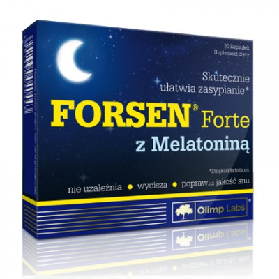 Forsen Forte z melatoniną 30kaps.